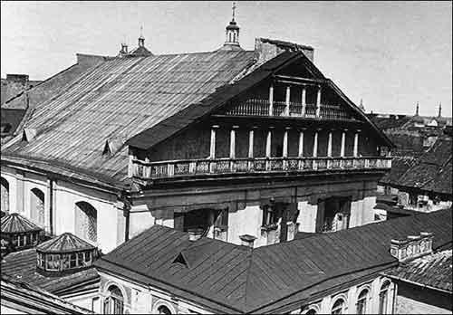 Большая синагога в Вильнюсе / Фото: radzima.org