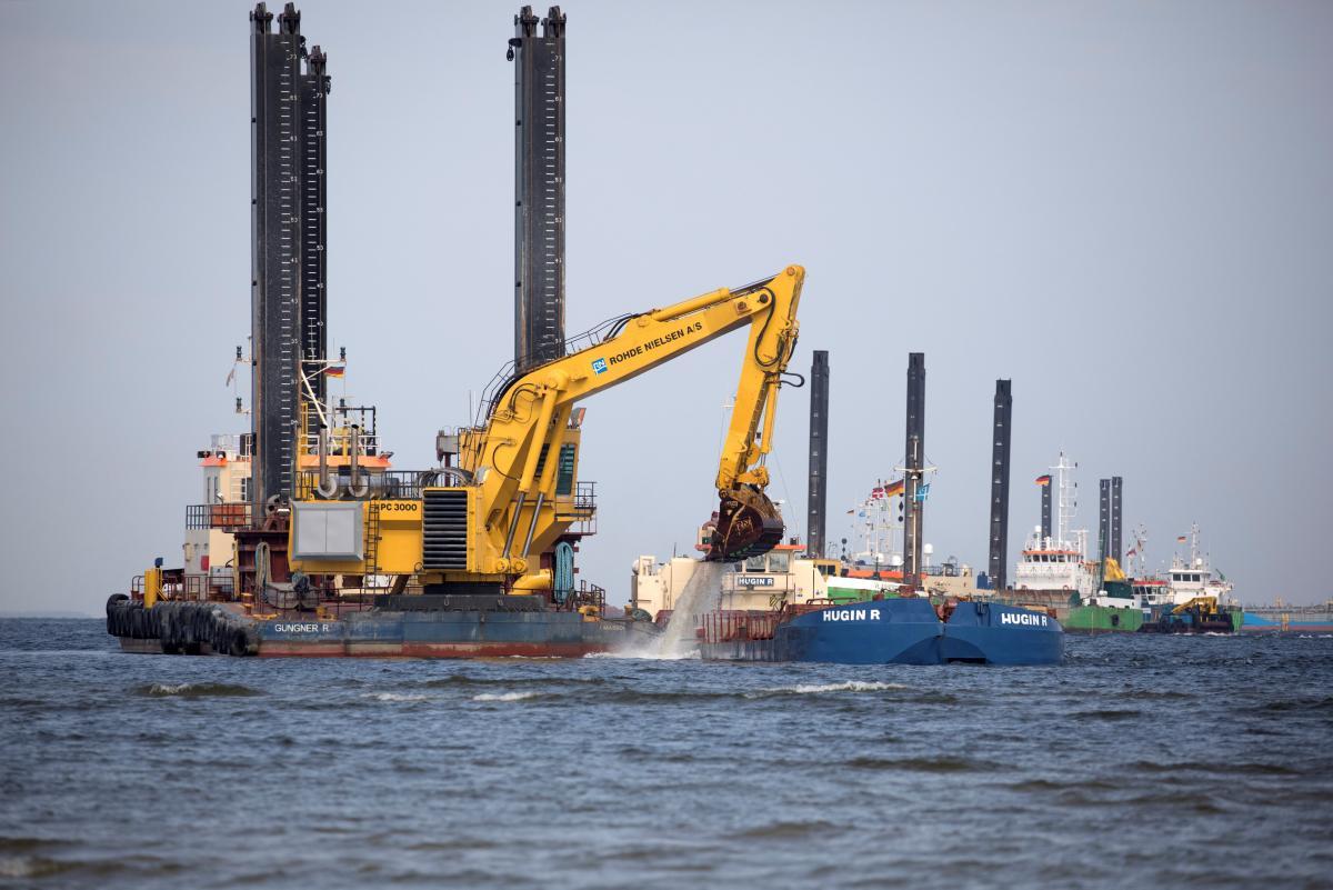 Строительство Северного потока-2 / фото: REUTERS