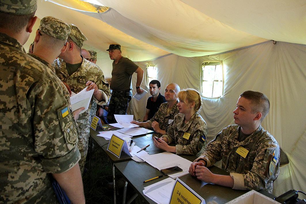В Украине начались сборы резервистов при участии представителей стран-членов НАТО / фото Минобороны