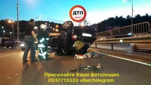 Загинув чоловік / фото facebook.com/dtp.kiev.ua