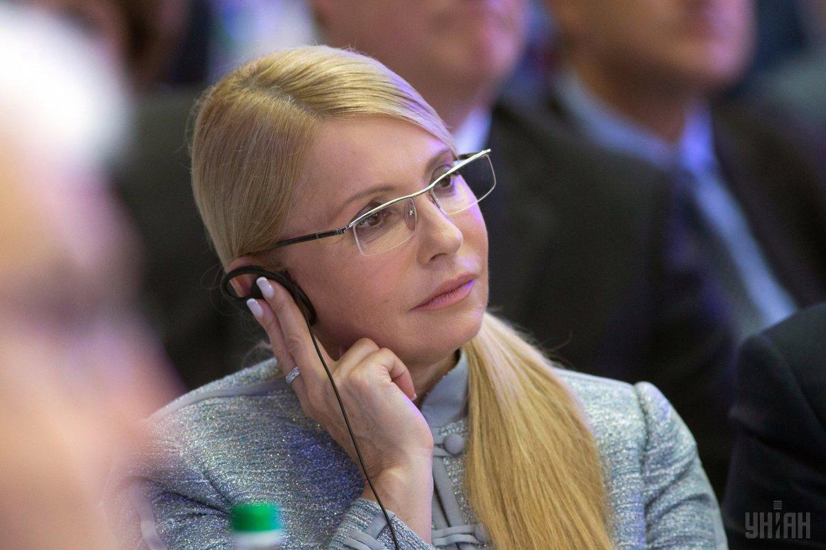 Тимошенко лідирує у президентському рейтингу / фото УНІАН
