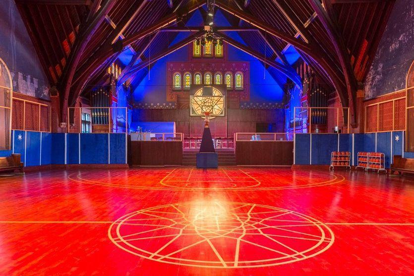 В храме будут тренироваться команды из старших школ / isport.ua
