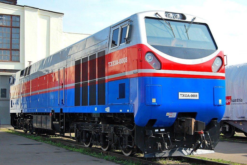 """""""Тризуб"""" проїде 150 км у складі вантажного поїзда на дільниці Кременчук-Ромодан / фото ABCnews"""