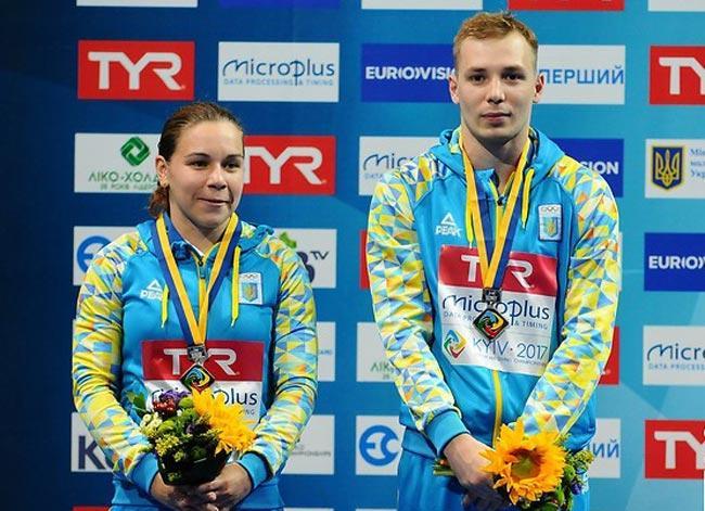 Вікторія Кесар і Станіслав Оліферчик / sportonline.ua
