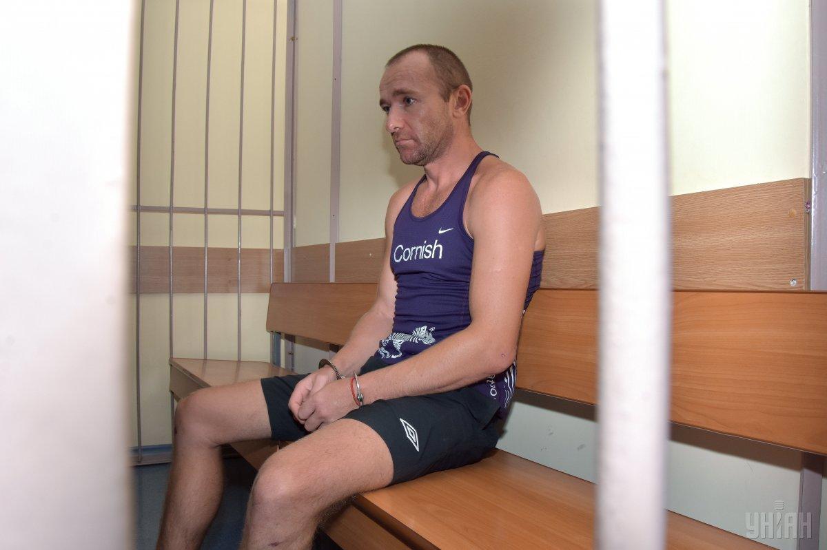 Николай Новиков облил активистку кислотой, купленной его сообщником в Херсонской области / фото УНИАН