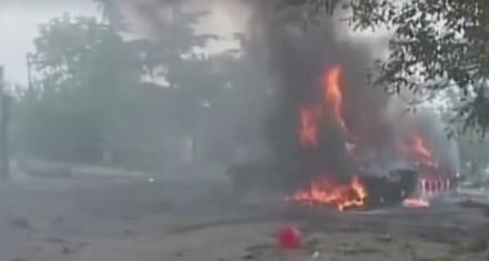 8 серпня Грузія дала відсіч агресору / скріншот відео ТСН