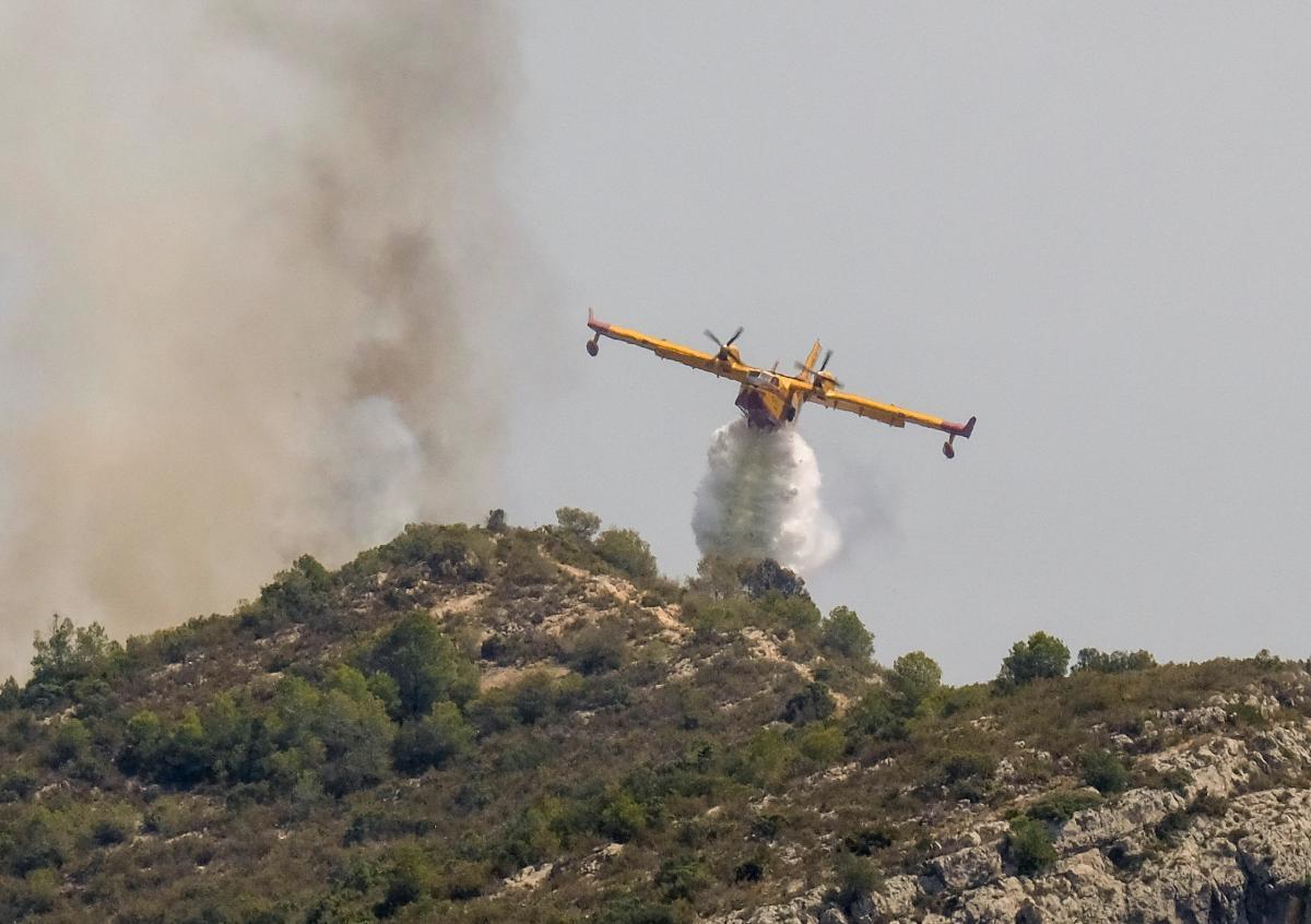 В Іспанії вирує лісова пожежа / REUTERS