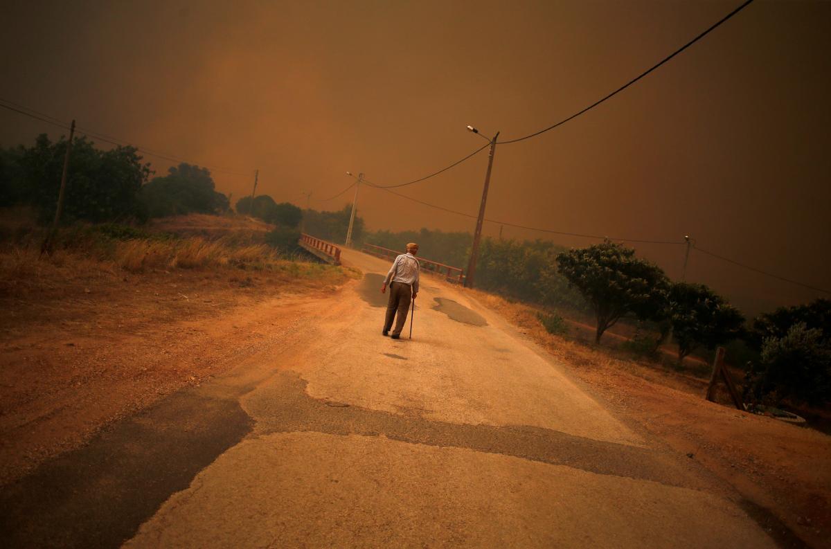 У Португалії продовжують вирувати лісові пожежі / REUTERS