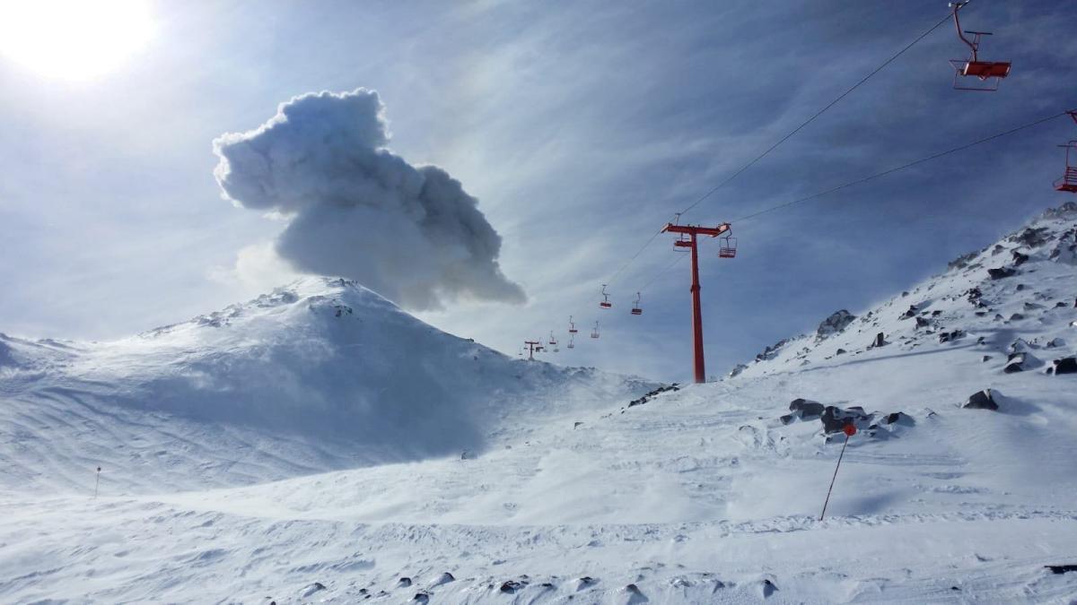 В Чили проснулся вулкан / REUTERS