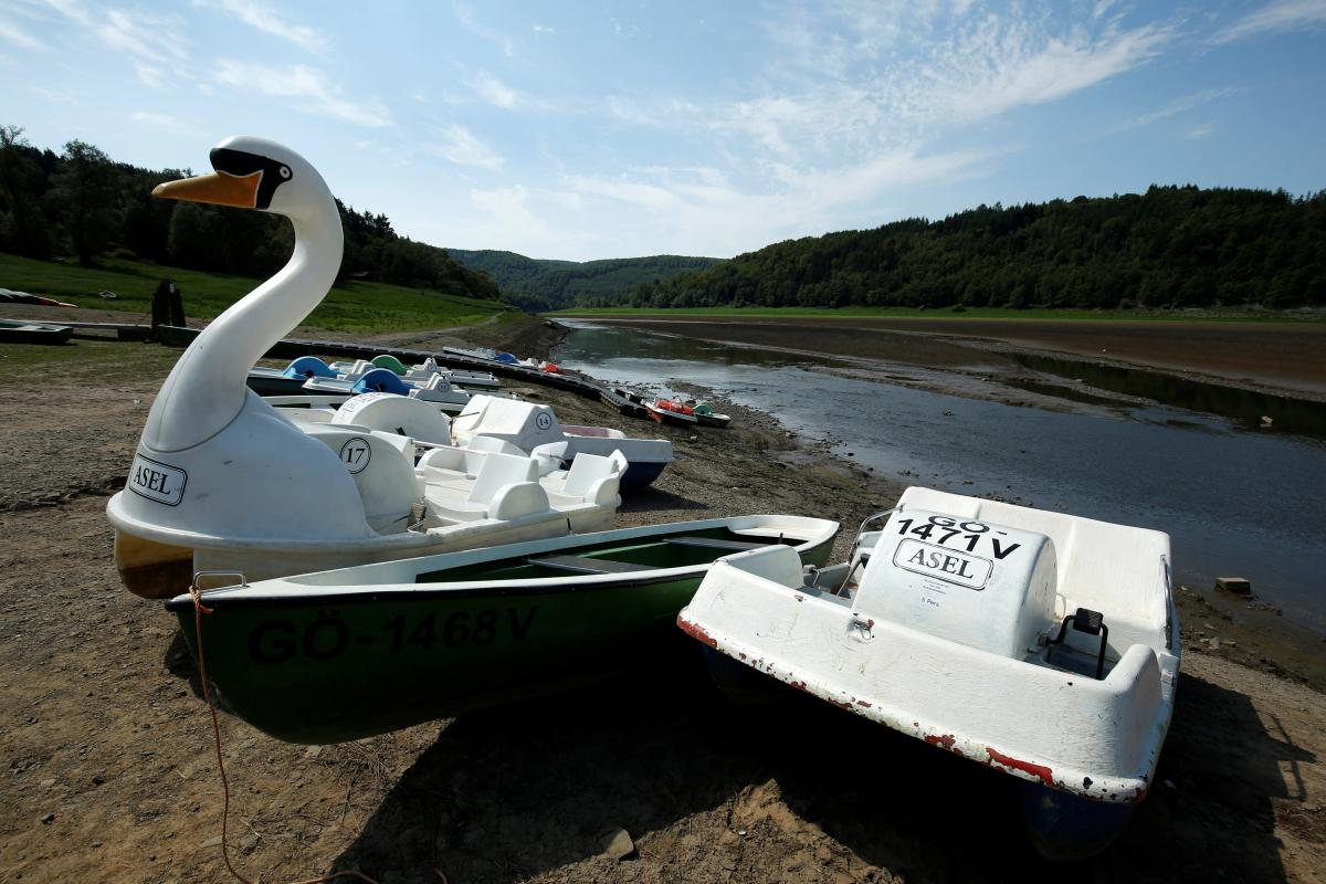 У Німеччині туристи залишилися без катання на човниках / Фото REUTERS