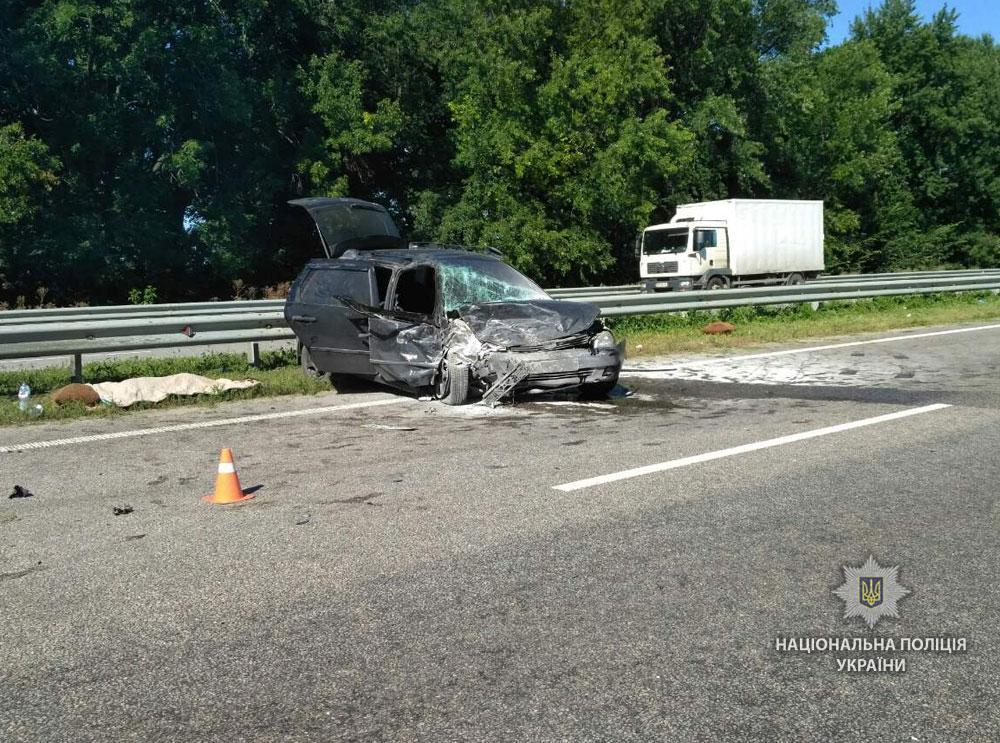 Унаслідок аварії постраждали двоє дітей / фото pl.npu.gov.ua