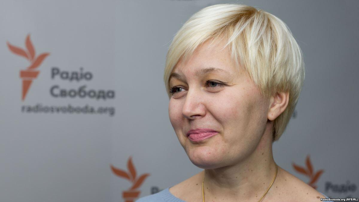 Письменниця Лариса Ніцой/ фото РадІо Свобода