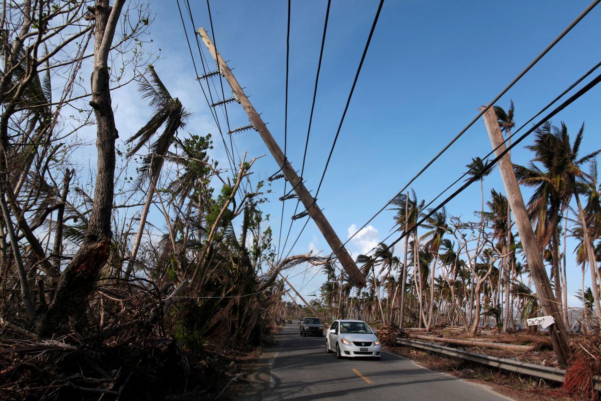 """Наслідки урагану """"Марія"""" в Пуерто Ріко / REUTERS"""