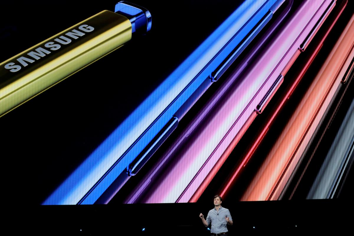 Презентація Galaxy Note 9 / REUTERS