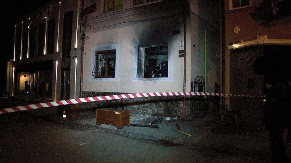 В Польше подозревают, что поджог в Ужгороде год назад заказала Россия через журналиста из Германии / фото zak.gp.gov.ua