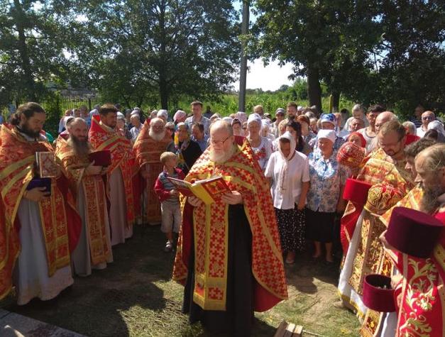 В Переяслав-Хмельницком состоялась литургия на месте гибели святого князя Бориса / boryspil-eparchy.org
