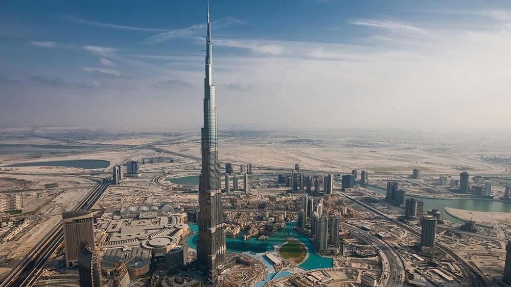 Бурдж-Халифа в Дубаи / фото изоткрытых источников
