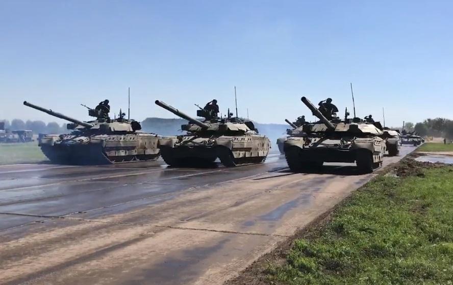 Бірюков показав кадри з репетиції параду до Дня Незалежності / Скріншот