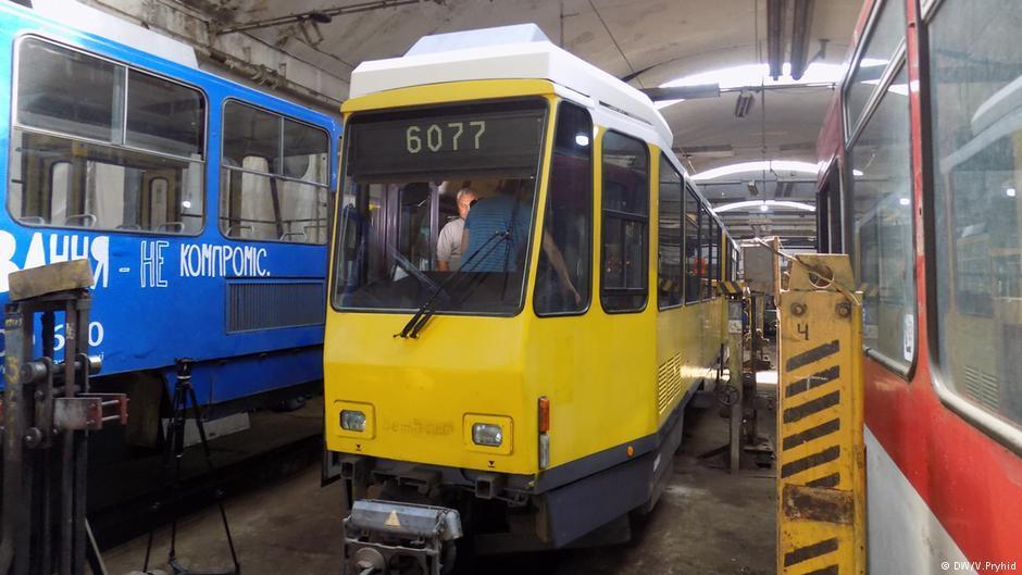 Львов купил 30 подержанных немецких трамваев / фото dw.com