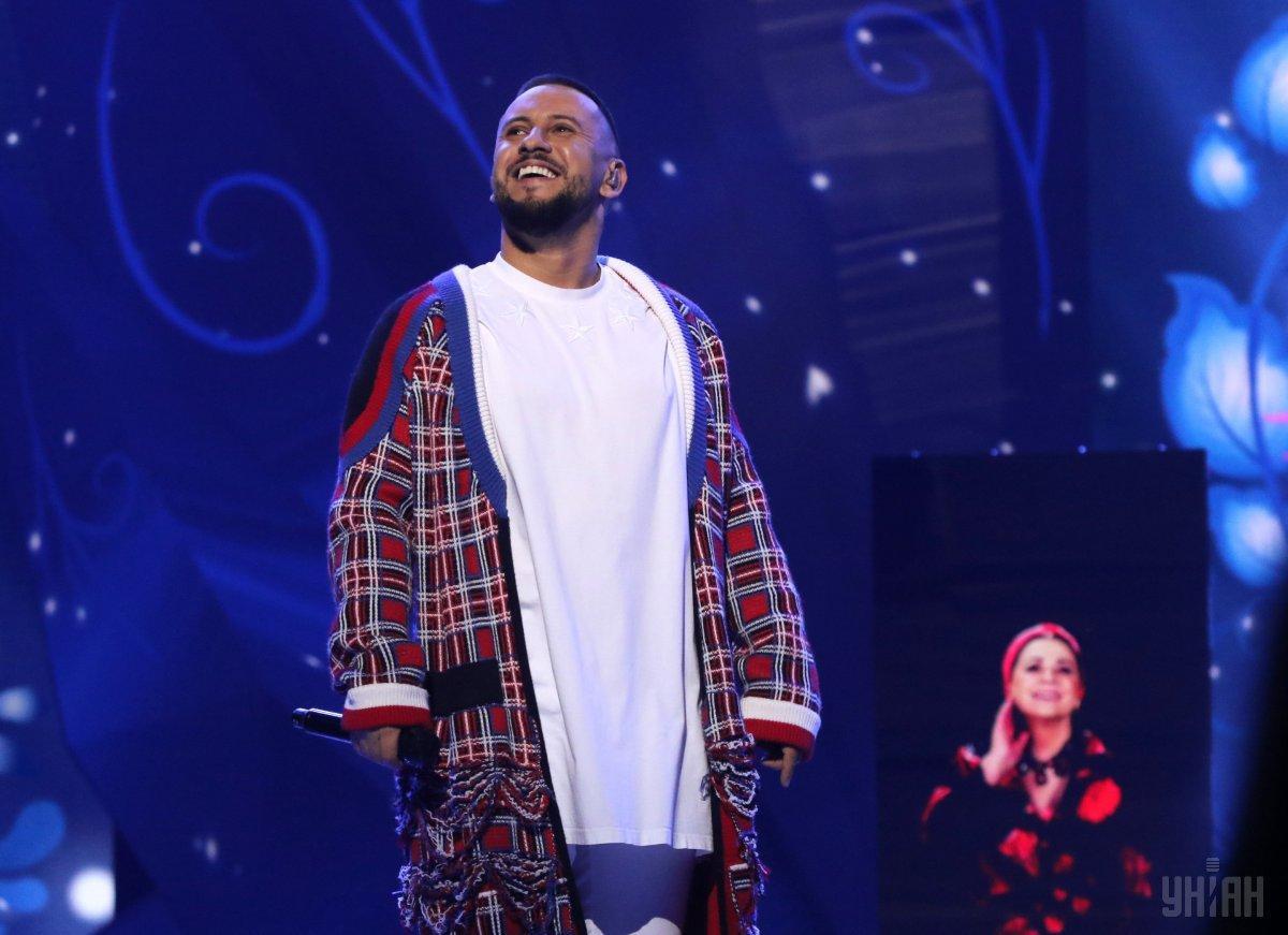 Монатик продолжил концерт, несмотря на сломанную технику / фото фото УНИАН