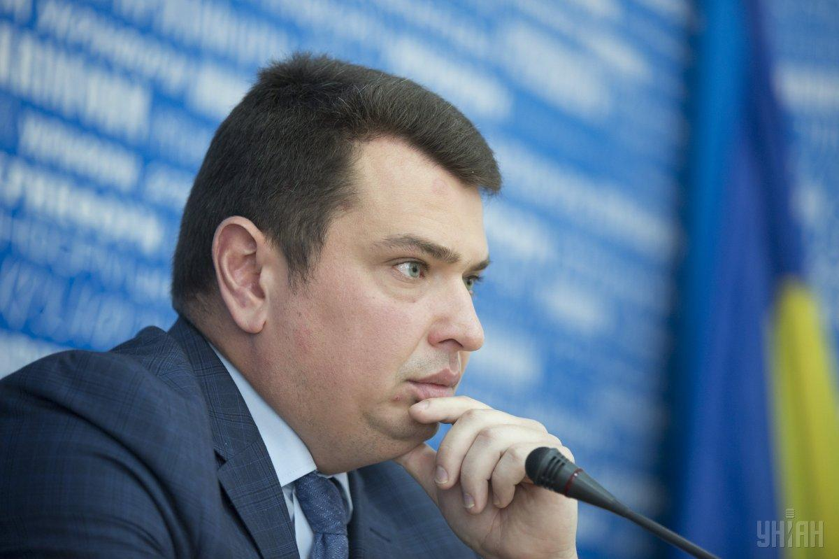 Директор НАБУ Артем Ситник / фото УНІАН