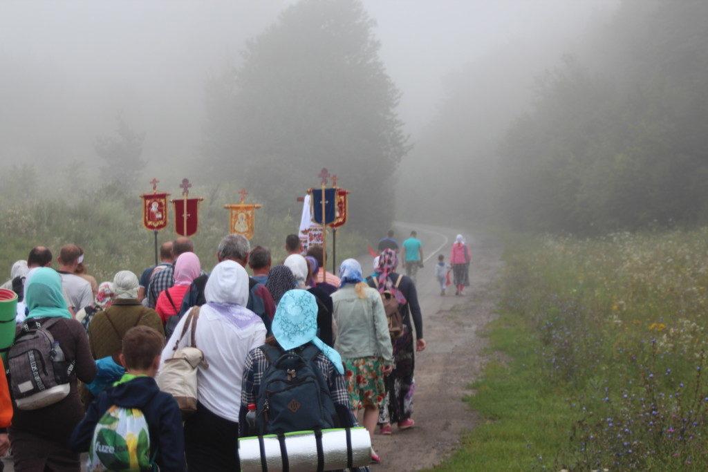 Паломники подолали понад двісті кілометрів / ivano-frankivsk.church.ua