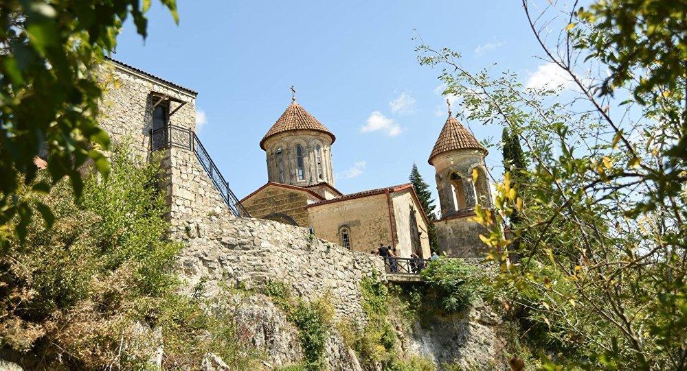 Монастырь Моцамета / georgia.in-facts.info