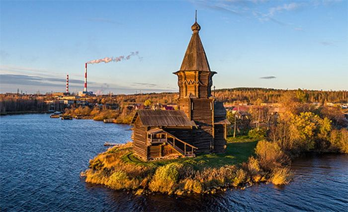 Церковь Успения Пресвятой Богородицы в Кондопоге / tourism.karelia.ru