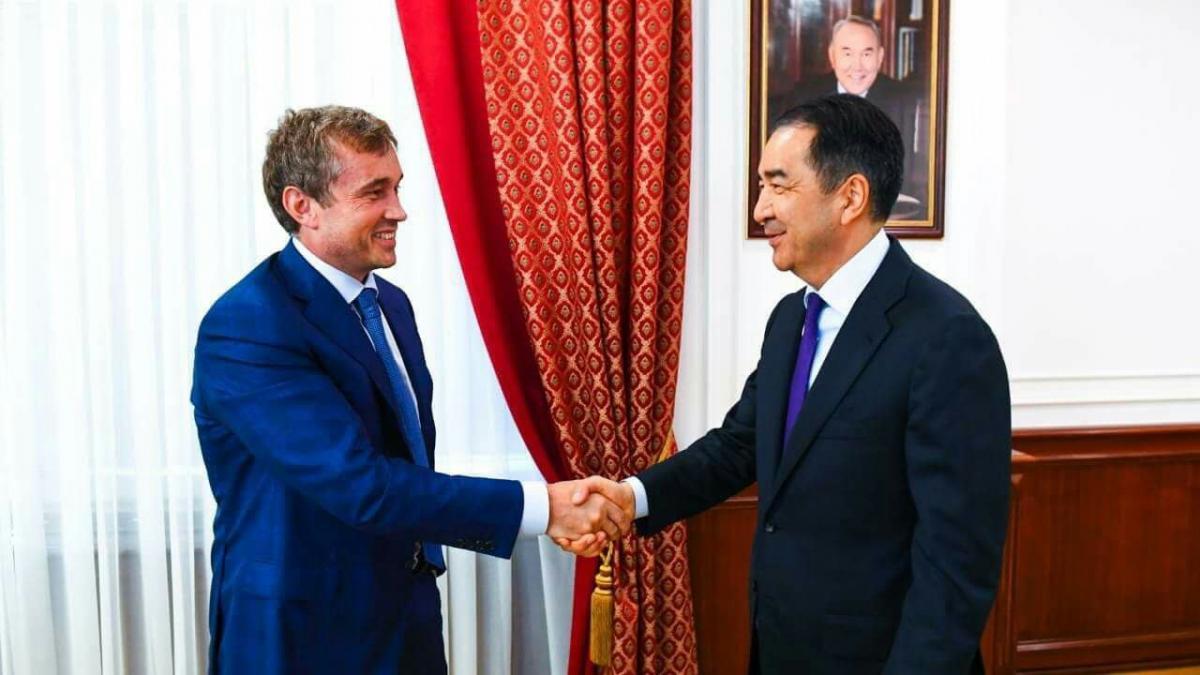 Премьер-министр Казахстана Бахытжан Сагинтаев