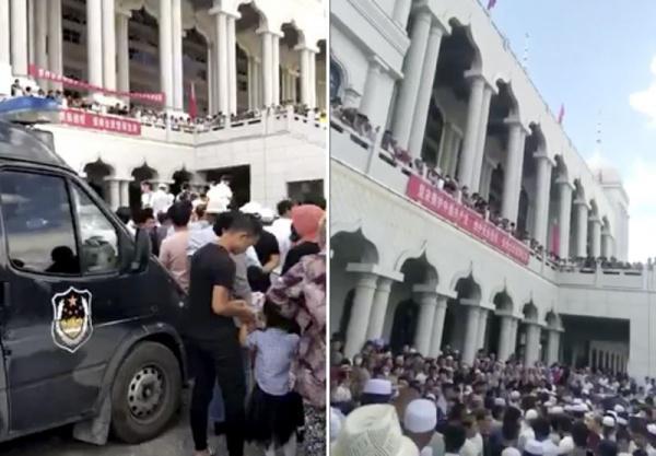 На акцію протесту вийшли сотні людей / Islam-today
