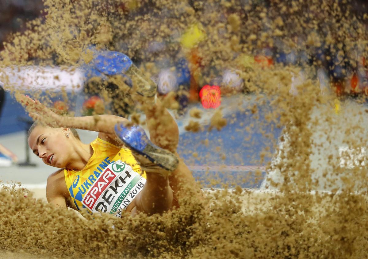 Марина Бех принесла Украине серебро чемпионата Европы по легкой атлетике / REUTERS
