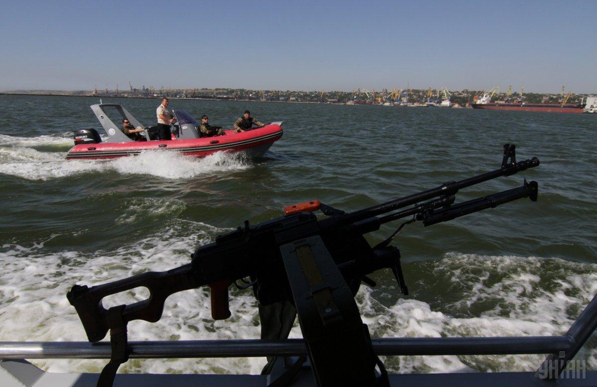 Жебрівський відзначив, що є проблема відсутності військового флоту в Азовському морі / фото УНІАН
