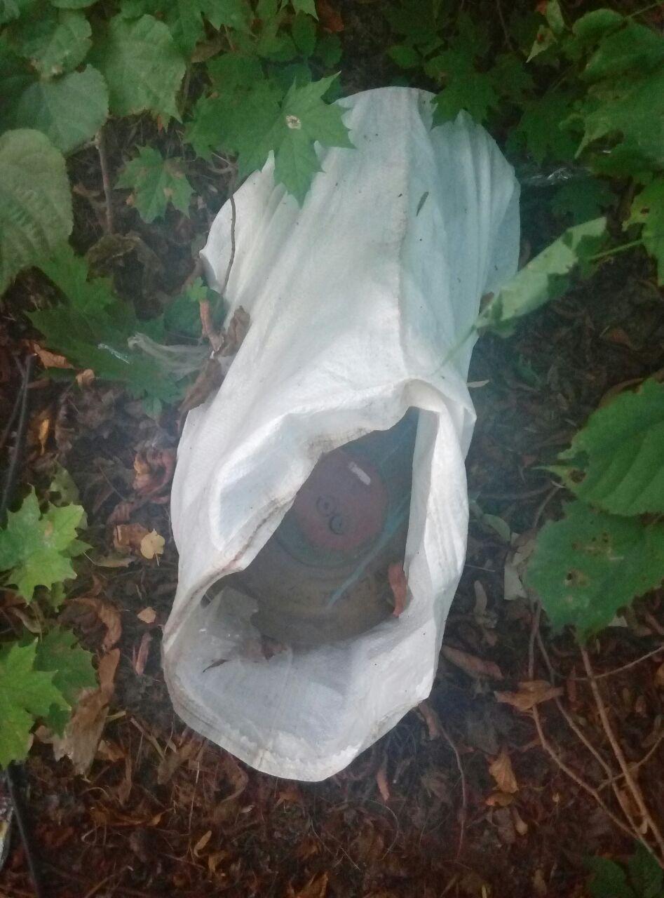 Мужчина обнаружил две современные противотанковые мины / фото ГСЧС в Днепропетровской области