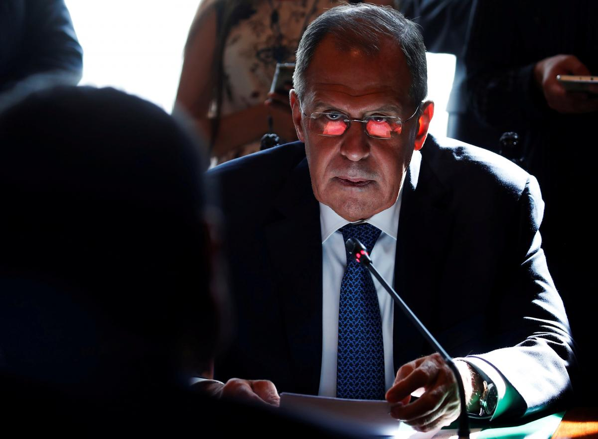 Sergei Lavrov / REUTERS