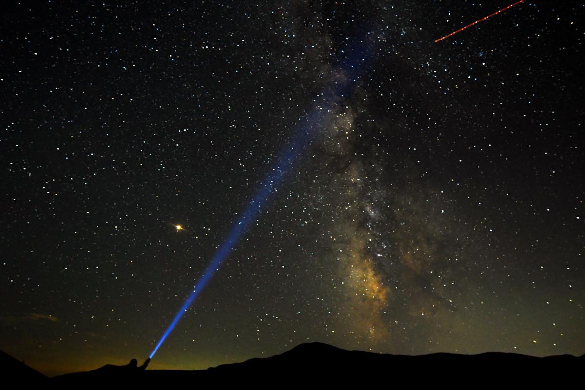 Пик Ориониды приходится на 21-22 октября / фото REUTERS