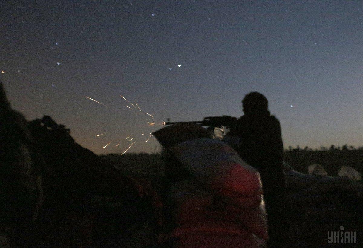 Боевики не прекращают обстрелы / фото УНИАН