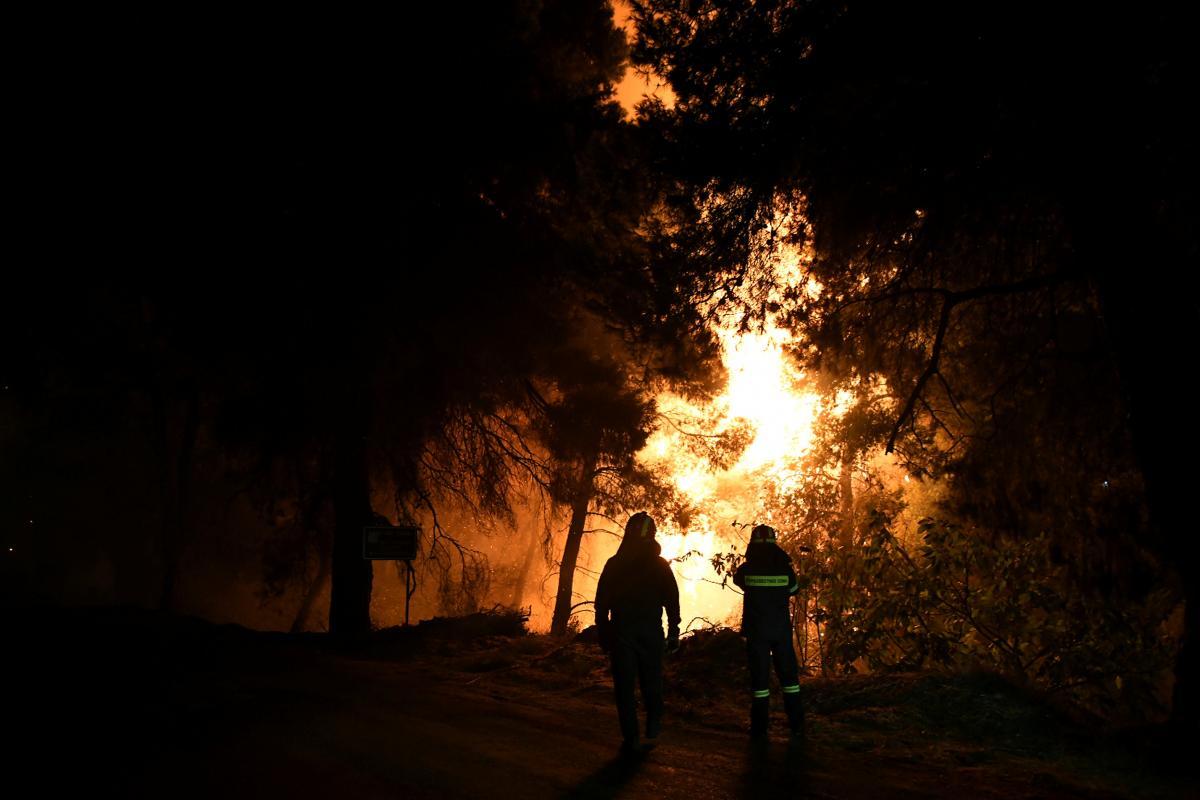 В Греції збільшилося число жертв лісових пожеж / REUTERS