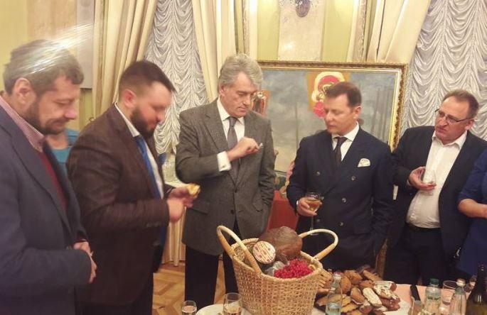 Ющенко визнав, що поважає Ляшка / фото - Юрій Ройко, Волинська газета