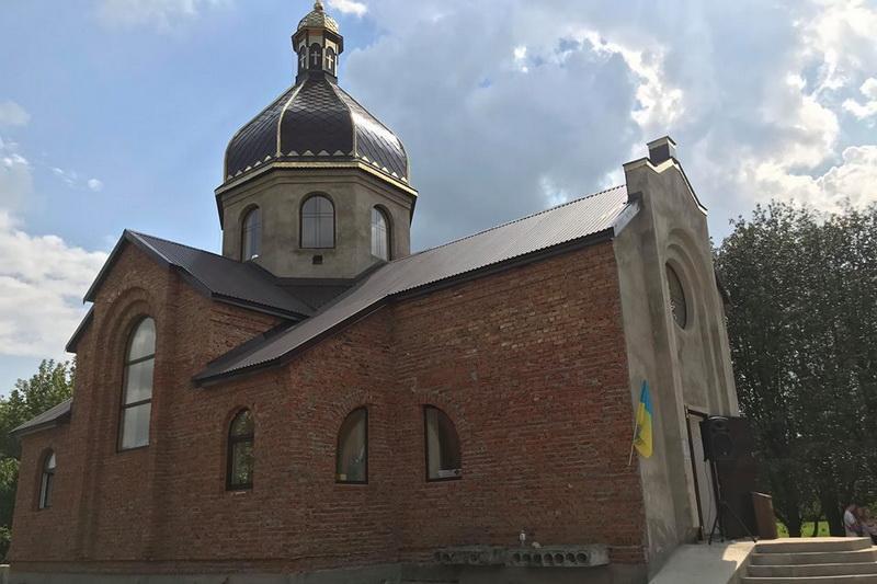 У Кам'янці-Подільському освятили п'ятий храм УГКЦ / tze.org.ua