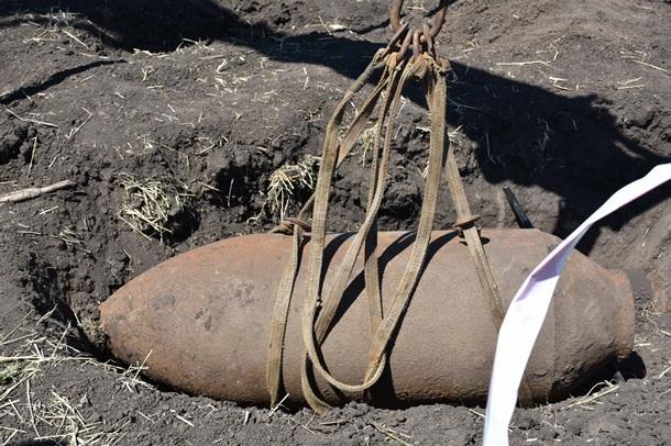 Небезпечну знахідку виявили під час проведення земляних робіт ДСНС
