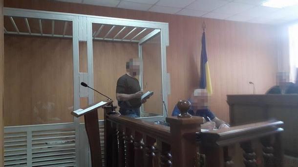 В Одесі до чотирьох років і восьми місяців ув'язнення засуджено диверсанта / скріншот