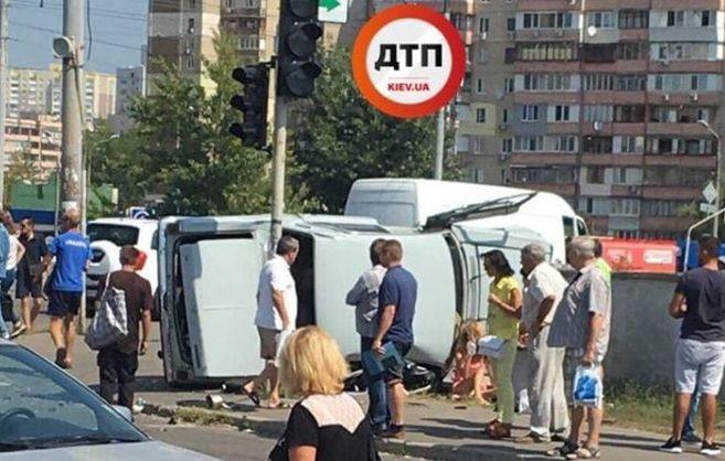 В результаті ДТП постраждали 5 осіб / ДТП.Київ