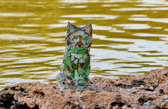 Скульптура кота зроблена в натуральну величину / фото facebook.com/eshelygina
