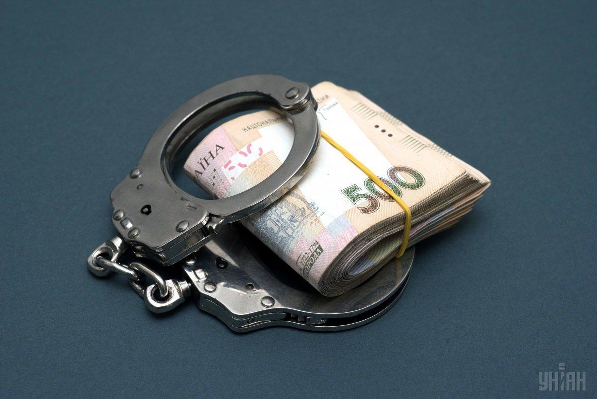 Заместитель начальника управления Госпродпотребслужбы задержана на взятке / фото УНИАН