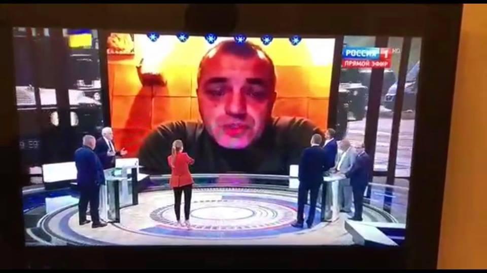 Бірюкова показали на росТБ/ фото facebook.com/yuri.biriukov