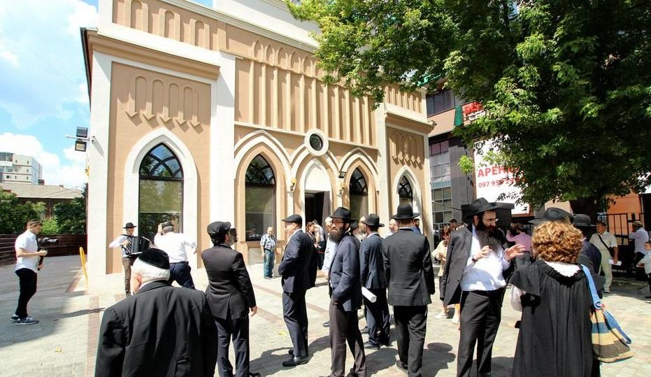 В исторической синагоге Днепра отметили завершение реконструкции / djc.com.ua