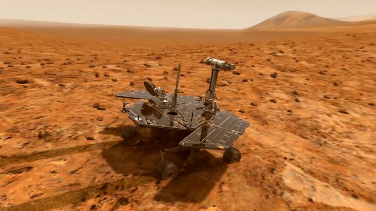 Протягом понад 10 років Opportunity був лідером в області дослідження планет / Фото nasa.gov