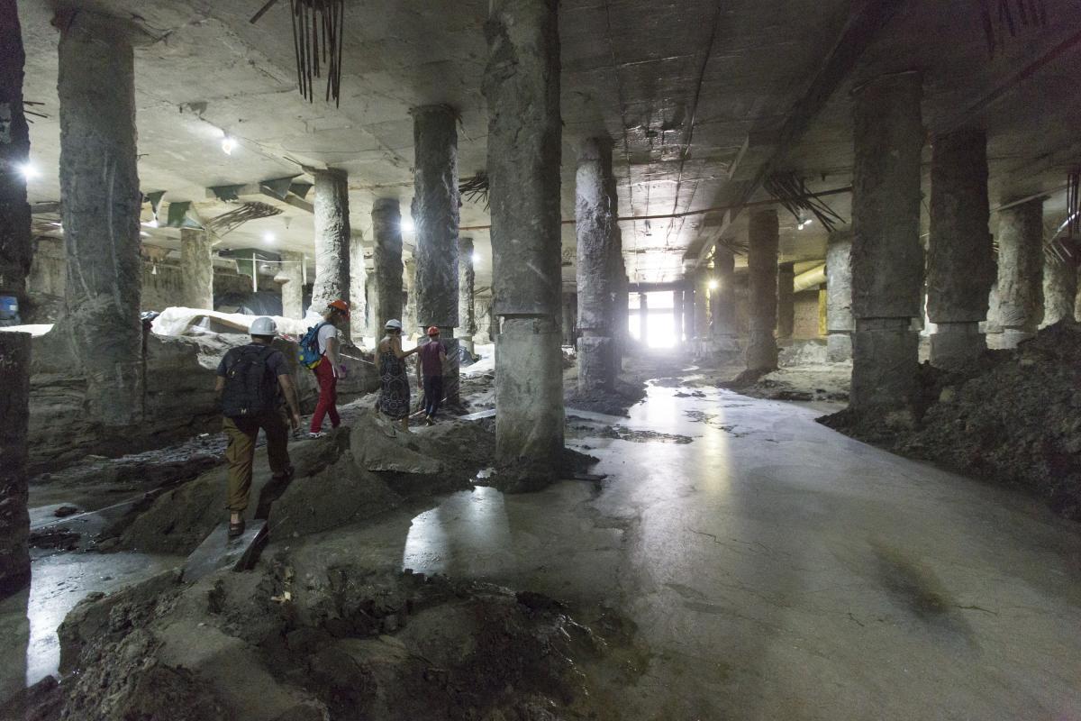 Активисты сообщили о скором начале работ по откачке воды / Фото УНИАН