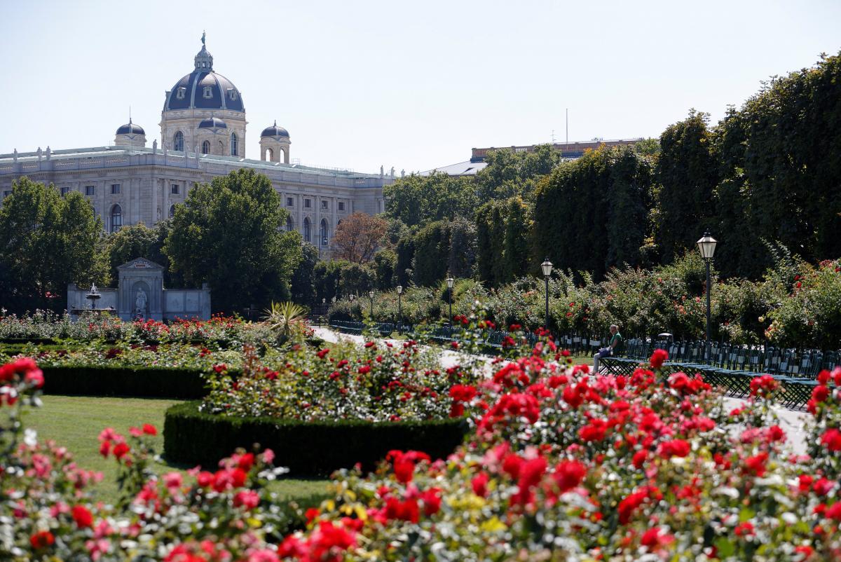 Сад поряд із Музеємприродознавства у Відні / REUTERS