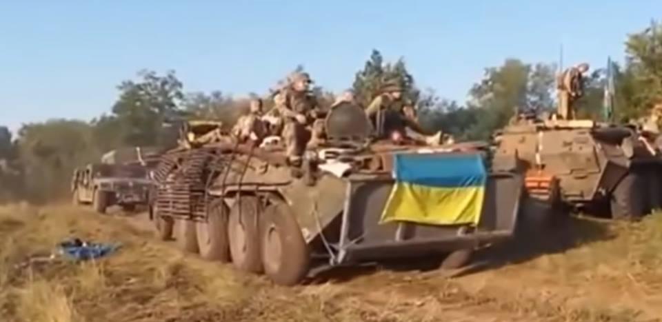 Военные вернулись из рейда без потерь / фото Viktoriya Rudenko, Facebook